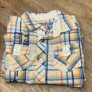 Guess stripped Kids button down shirt